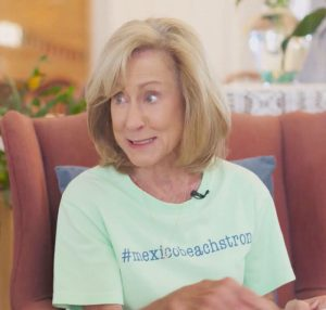 Cathy Parker-Hobbs talks about the future of Mexico Beach