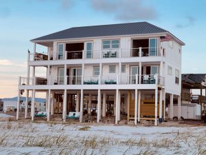 The Sand Palace of Mexico Beach after Hurricane Michael