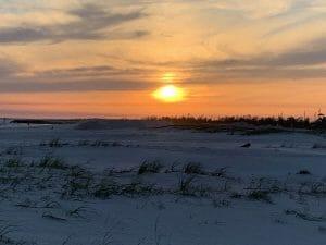Mexico Beach sunset